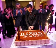 On May 16 the first five-star hotel-Rixos Borjomi presentation was held for media and a number of Georgian businessmen