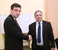 The Georgian Business Ombudsman has met Itsik Moshe